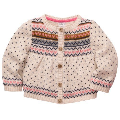 Carter`s Baby Girls Mini Blues Sweater Knit Cardigan (3M-24M) - Listing price: $30.00 Now: $19.49