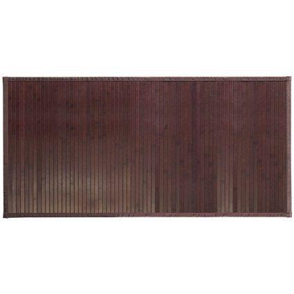 InterDesign Formbu - Tapete para baño, tamaño grande, color marrón oscuro