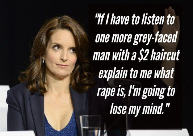 On the patriarchy: | 21 Brilliant Tina Fey Quotes That Prove She's The Ultimate Boss