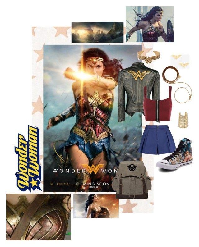"""Wonder Woman"" by svenjadobbert on Polyvore featuring Mode, Paul & Joe Sister, DC Comics, 3.1 Phillip Lim, Alex and Ani, Papermoon und Converse"