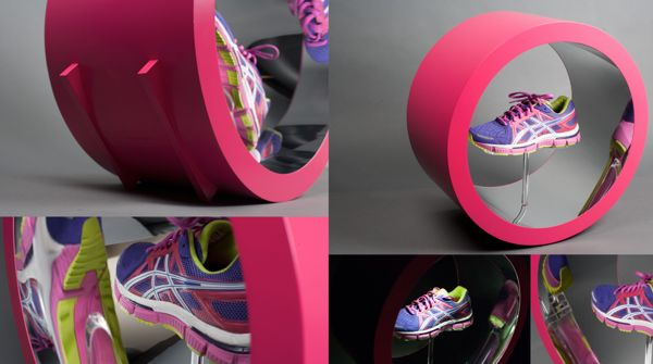 ASICS Lite-Show Collection by William Sager, via Behance