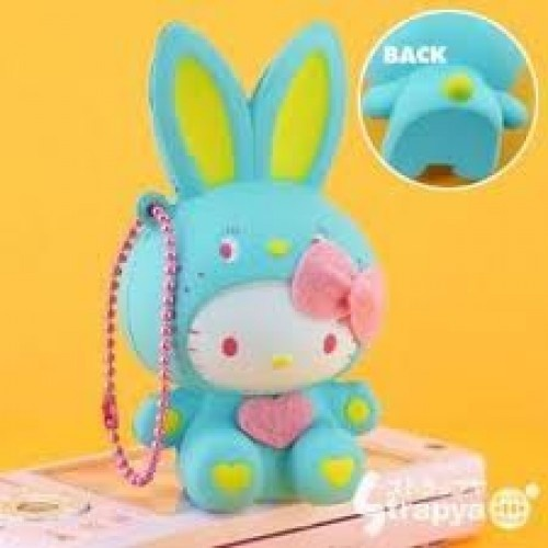 Bunny Wishes Squishy : Rare Sanrio Hello Kitty Colorful Bunny Squishy Mascot. Hello Kitty Pinterest Bunnies ...