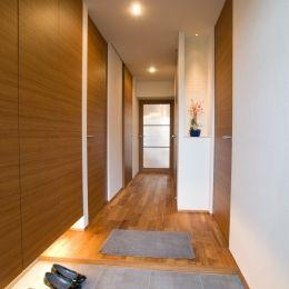 心地良いカフェのような空間(リノベーション)の部屋 玄関