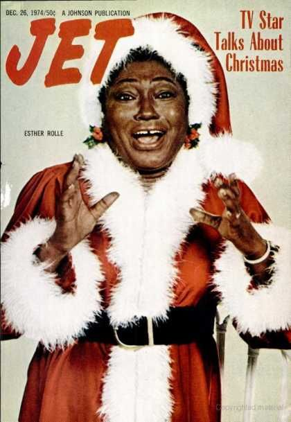 The Best Black Santas That Would Freak Megyn Kelly Out of Her Mind: Esther Rolle