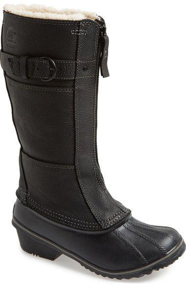 SOREL 'Winter Fancy Tall II' Waterproof Snow Boot (Women) available at #Nordstrom