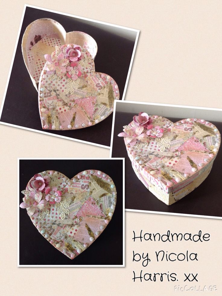 Craftwork cards.......More Than Words Decorated mâché box.