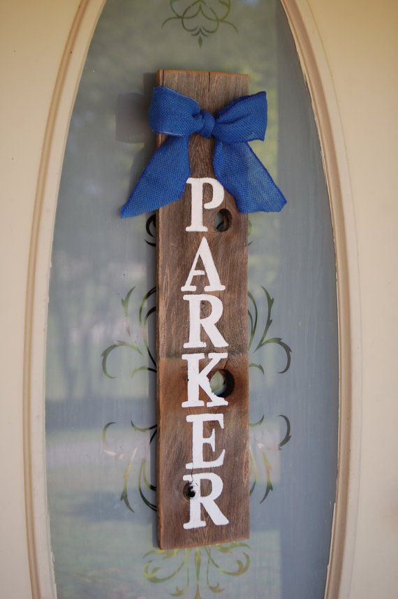 Baby Room Door Sign Last Name Decorations Its a by TRUECONNECTION