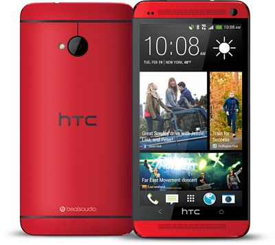the red HTC One