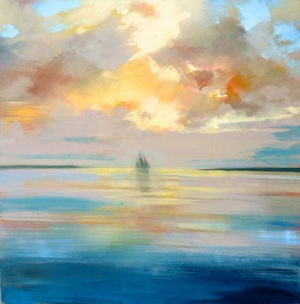 """Cruisin' "" by Craig Mooney.  48"" x 48"" Oil.  Available at Maine Art Paintings & Sculpture."