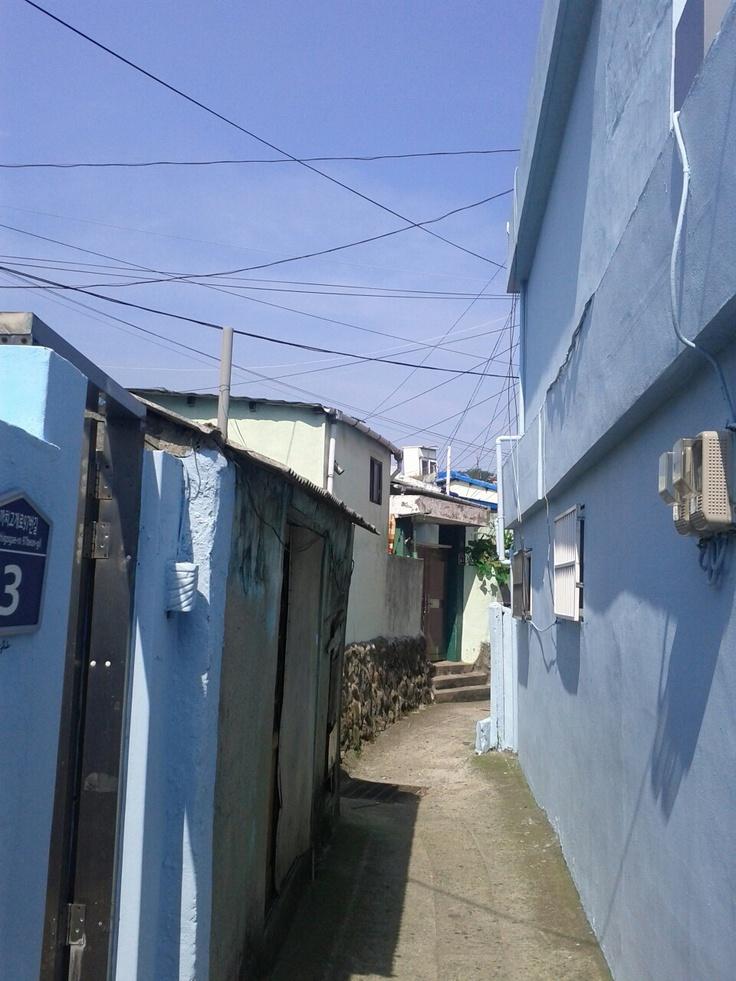 2012-07-26, 부산 아미동 87번버스 종점 근처 산동네
