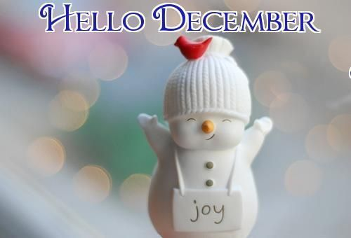 Hello December! The most wonderful time of the year! ;) x