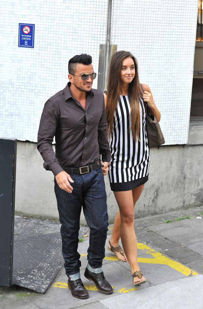 Emily MacDonagh and Peter Andre..