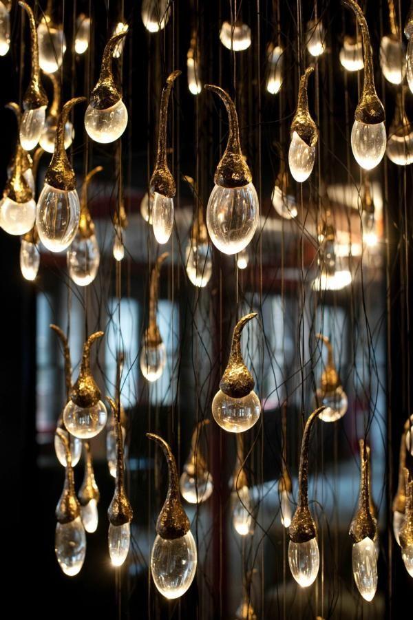 KAGADATO selection. The best in the world. Industrial lighting design. **************************************Seed installation, ochre.net
