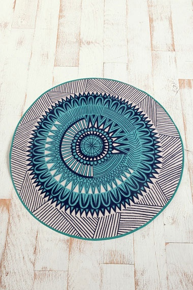Aztec rug from urban outfitters