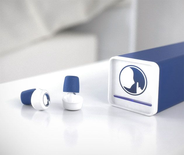 Meet Hush, the world's first smart earplugs. Never be kept awake again by noisy neighbors, a snoring spouse or sleep easily on a flight without having to rest your head on cumbersome headphones. Not only do these comfortable buds block out unwanted noise, but will send you into slumber with soothing sounds sent via Bluetooth. Don't worry about sleeping in or missing important calls, they come armed with features such as notification alerts and an alarm too.