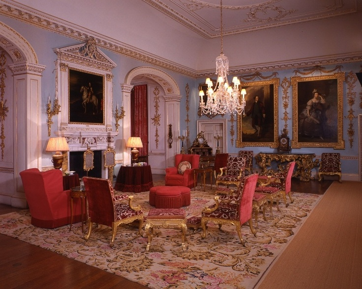 Grimsthorpe Castle - drawing room