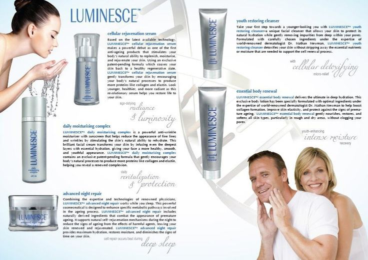 Luminesce Line of Products. Http://www.fillinitink.jeunessglobal.com