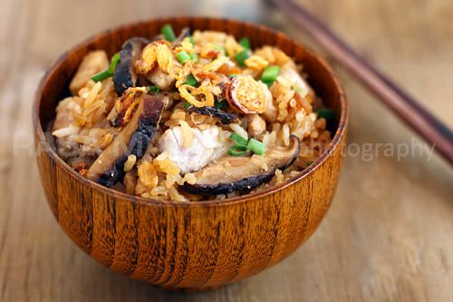 Yam Rice (芋头饭)