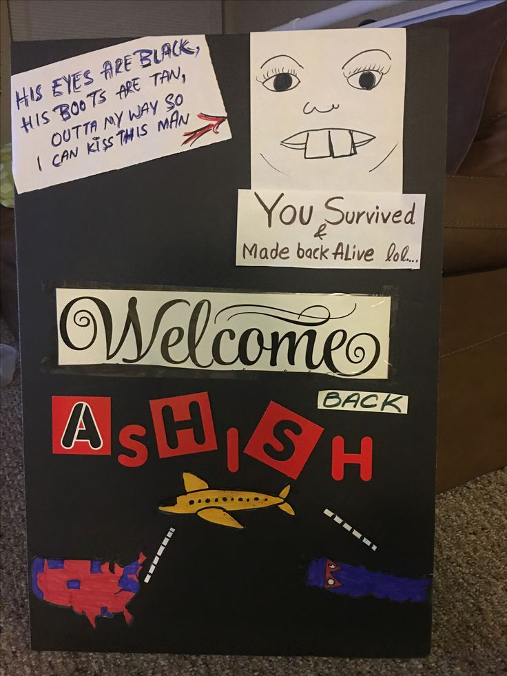 Airport sign I made for Ashish. I will be picking him up from philly on 20th..