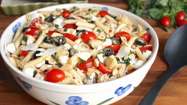 Ínyenc olasz tésztasaláta, 15 perc alatt kész a mennyei vacsi!!