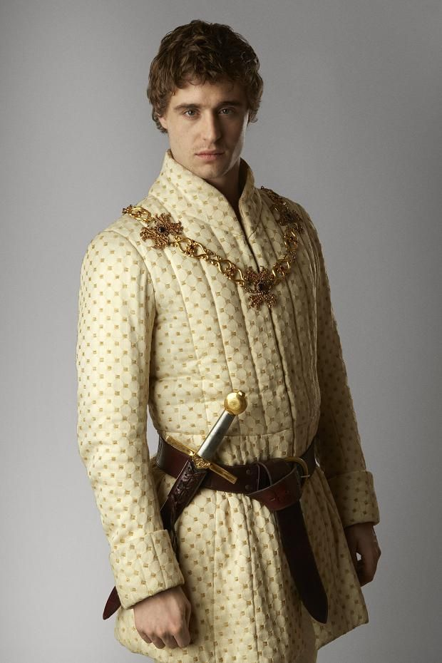 Max Irons as King Edward IV, The White Queen - 2013 miniseries