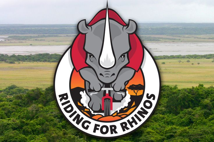 Logo for Dutch team in MTB challenge in South-Africa collecting money in the battle against rhino poaching.