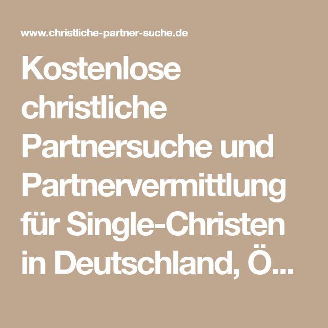 Christliche partnervermittlung deutschland