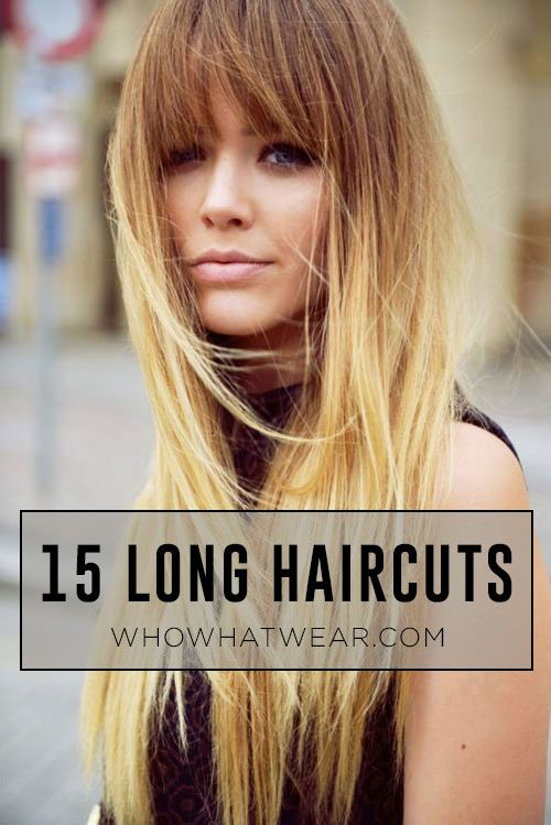 The best haircuts and styles for long #hair. #beauty