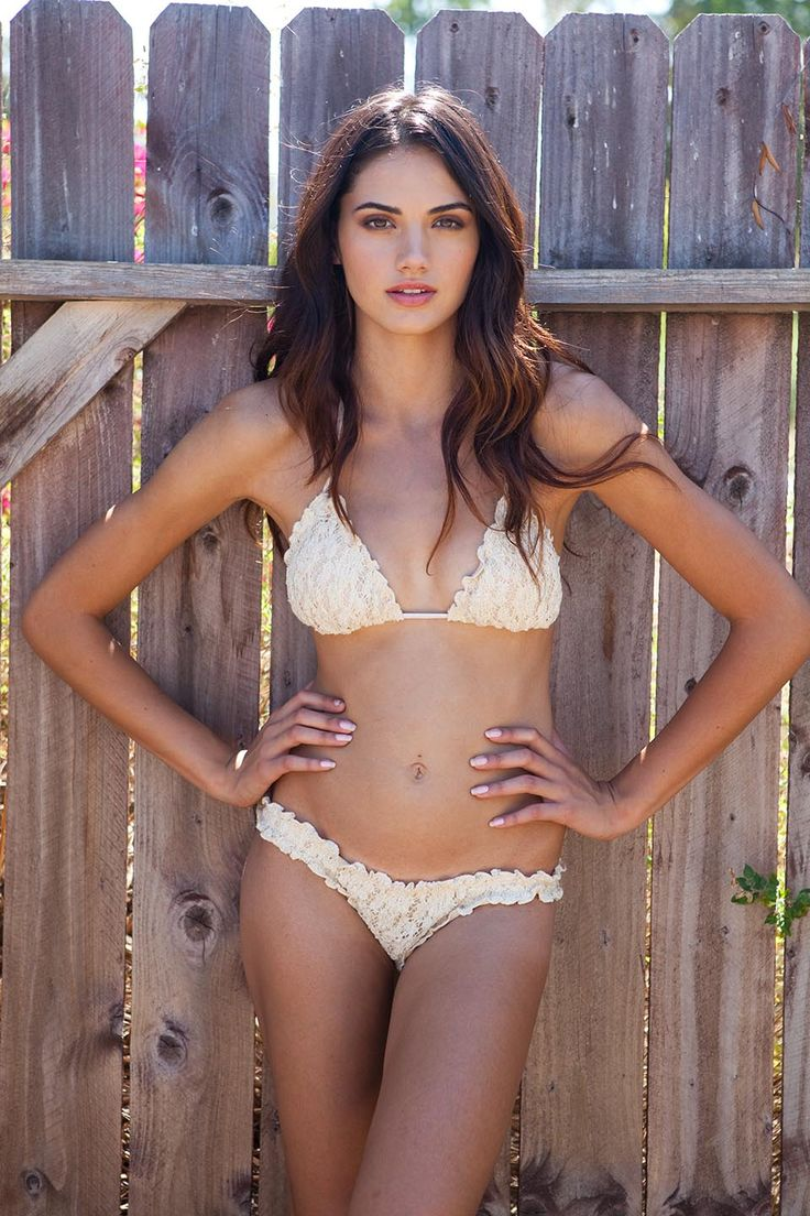 Antique lace Bikini by Point Conception Swimwear.