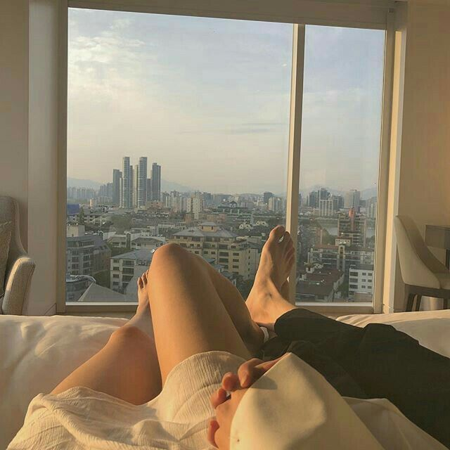 Best thing ever…wanna wake up with you like this…dream…. #cute #couple #goals #love