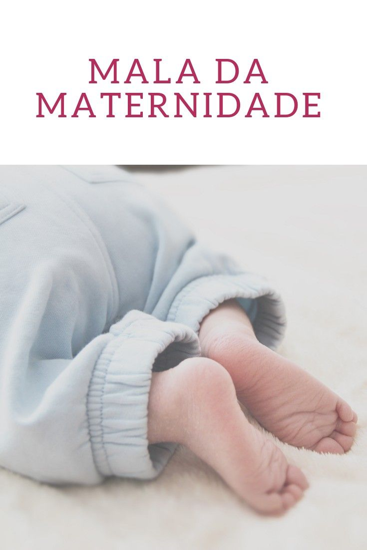 Mala Maternidade Essenciais Na Maternidade Mala Maternidade Mae