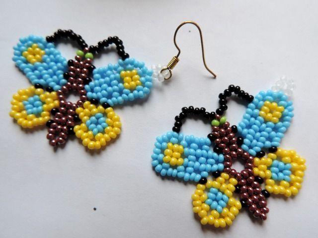 Large uicholskie butterfly. Master klassMoy favorite beads   My favorite beads