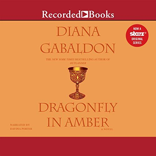 "Another must-listen from my #AudibleApp: ""Dragonfly in Amber"" by Diana Gabaldon, narrated by Davina Porter."