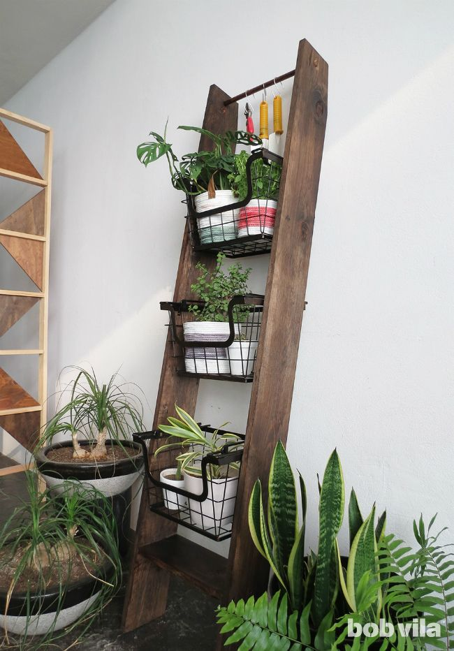 25 best ideas about plant stands on pinterest indoor plant decor plant decor and mid century - Ladder plant stand plans ...