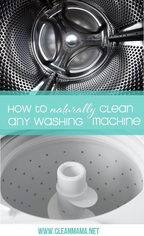 diy front load washing machine cleaner