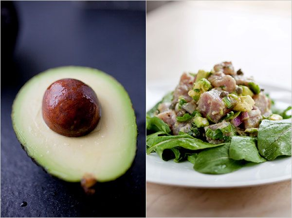 Recipes for Health - Tuna Ceviche or Tartare With Avocado - NYTimes.com