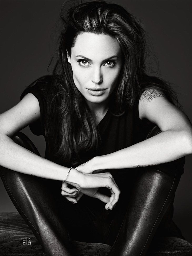 """Angelina Jolie: """"What Doesn't Kill You Makes You Stronger ..."""