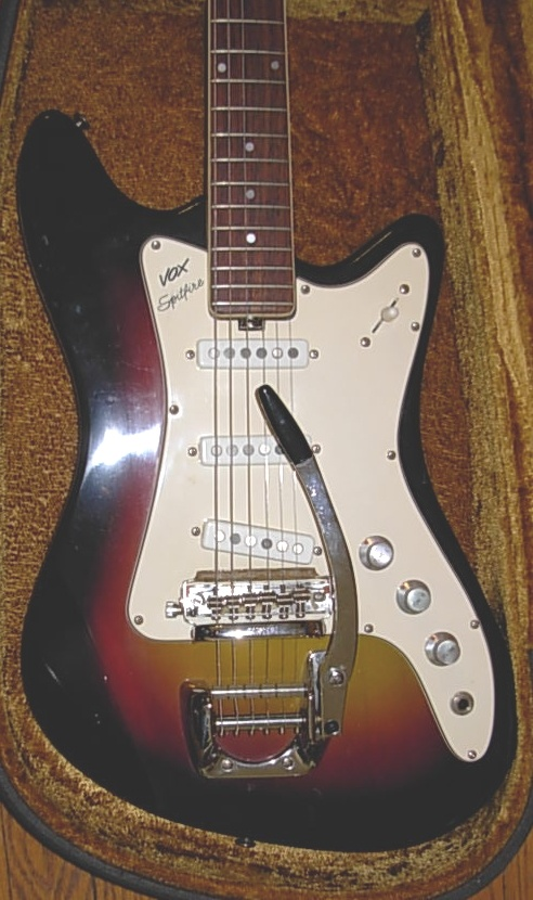 Vox Spitfire electric guitar...owned one during the 70's