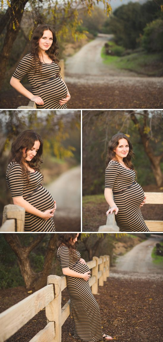 outdoor pregnancy pictures | Beautiful Outdoor Maternity Session in Orange County, CA