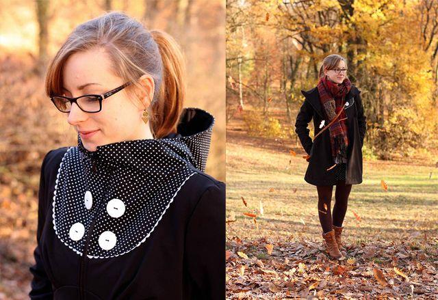 173_softshellmantel_Blog_mydearlove_retro, Aentschie wears her mydearlove Softshell Coat