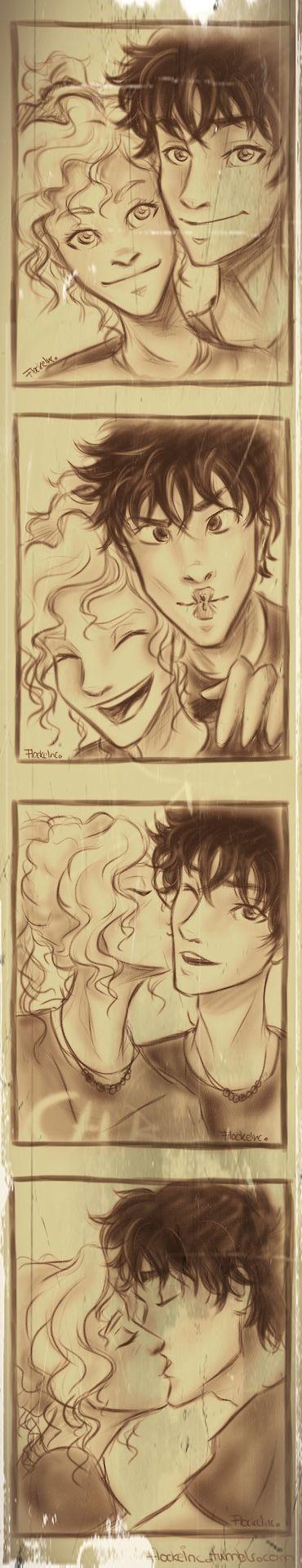 Annabeth Chase & Percy Jackson (Artwork)                              …