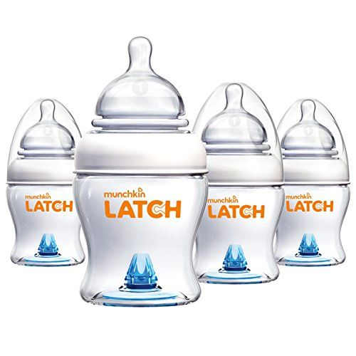 Munchkin Latch BPAFree Baby Bottle 4 Ounce 4 Pack *** Details can be found by clicking on the image.-It is an affiliate link to Amazon.