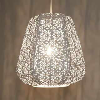Buy John Lewis Easy-to-fit Rosanna Ceiling Pendant Shade | John Lewis