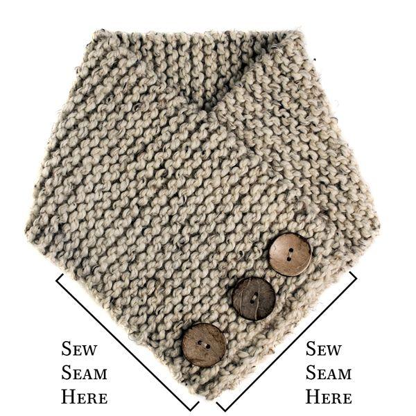 Super easy, beginner scarf knitting pattern