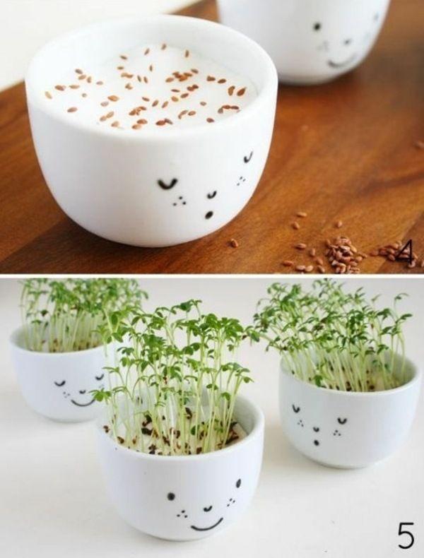 süße Idee Geschenk Teetasse bemalen