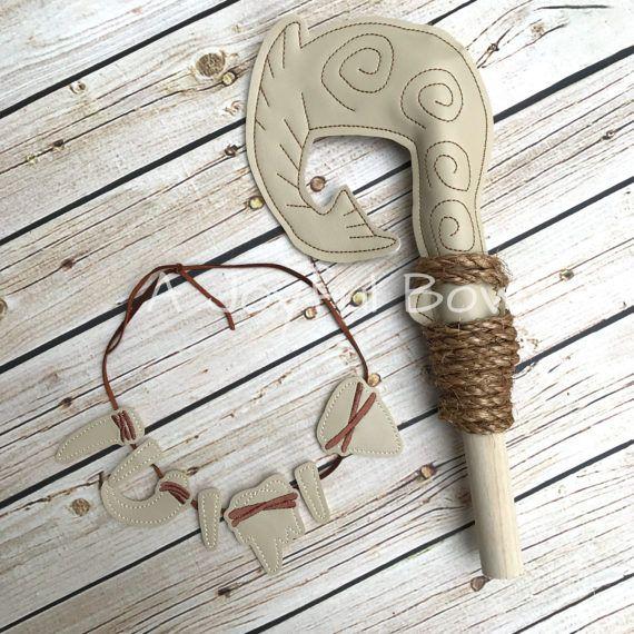 Maui hook and necklace set maui dress up moana dress up for Disney s moana maui s magical fish hook