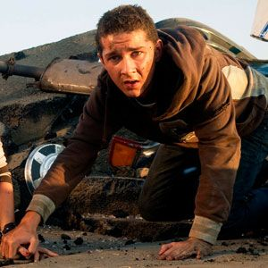 "Shia Labeouf as Sam Witwicky in ""Transformers"" Series"