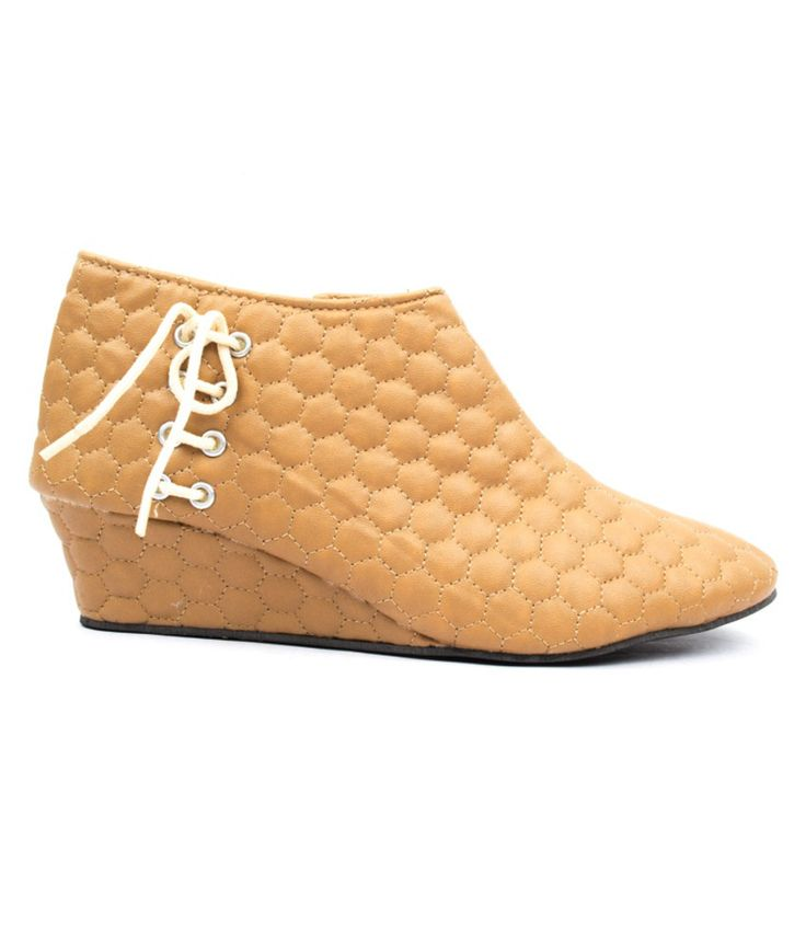 Credos Khaki Flat Boots