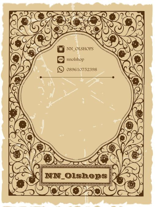 Pack Card for Necklace NN OL Shop