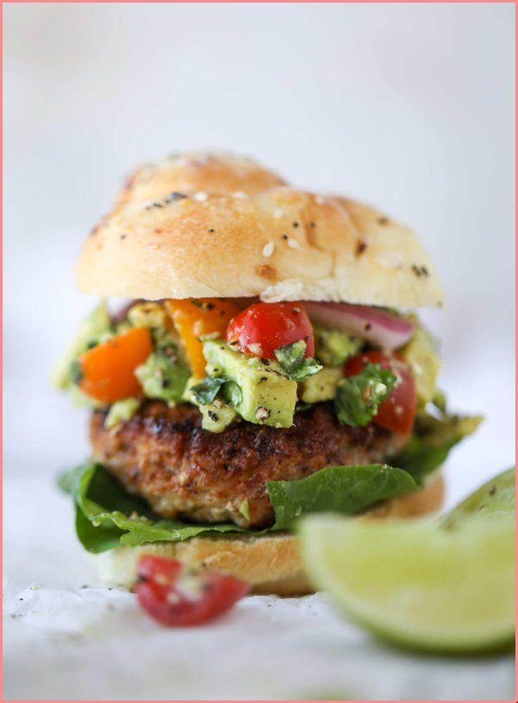 hamburger signature au guacamole - HD1471×2000